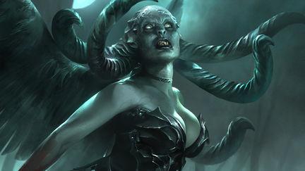 Magic The Gathering: Visara the Dreadful