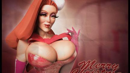 Jessica Rabbit Christmas