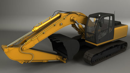 JCB Render with Mental Ray