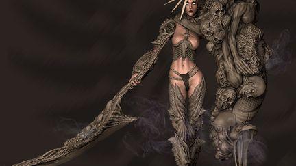 Maha Kali - Demon Goddess - Highres