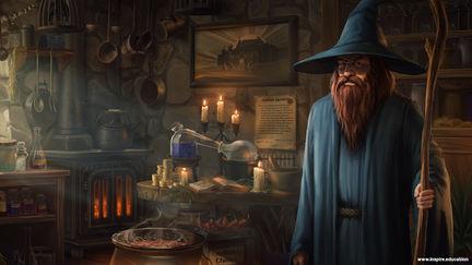 Merlin's Hut