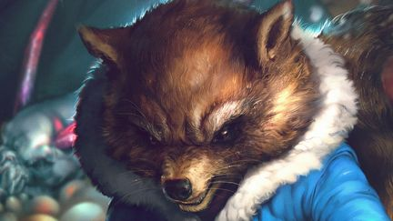 Rocket Raccoon Evo2