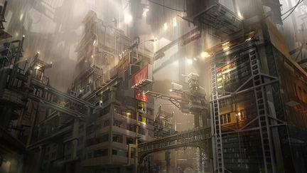 Environment Concept - industrial building 1