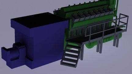 Diesel Back Up Generator