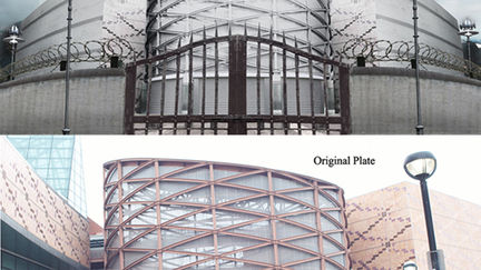 Prison Exterior Digital Matte Painting