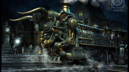 Steam Bull ( Legendary photo)