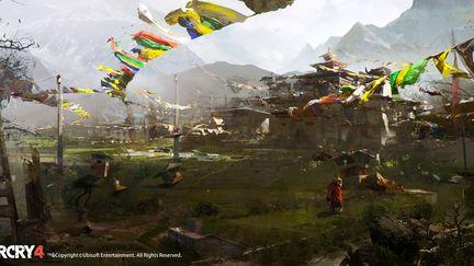 FarCry4 Concept Art - Monastery