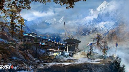 FarCry4 Concept Art - Opening Shot