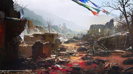 FarCry4 Concept Art - Ruins