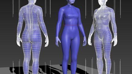 body modeling test
