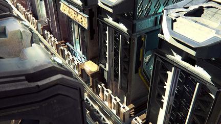 Zbrush 4R8 Beta Cityscape