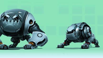 Robot-Dog lineup