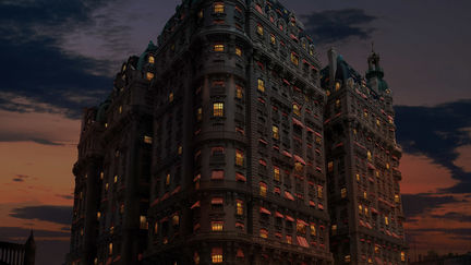 The Ansonia. Digital-matte painting by Edward Grad 2012