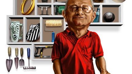 Shelfie Caricature: Mr. Lelo!