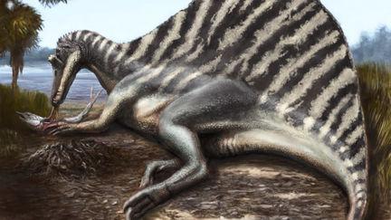 Spinosaurus Mum takes a break