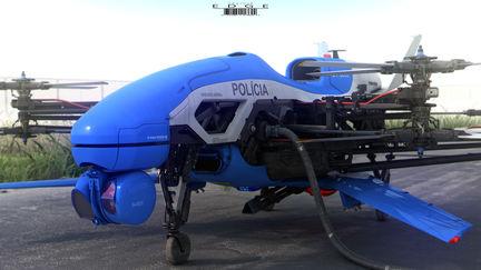 Rio de Janeiro Police Drone