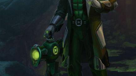 Mr.Green Lantern
