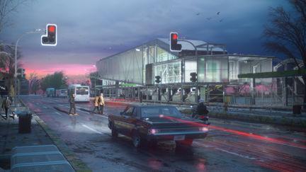 Pink Dusk Station