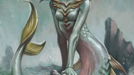The Little Mermaid - Mer form