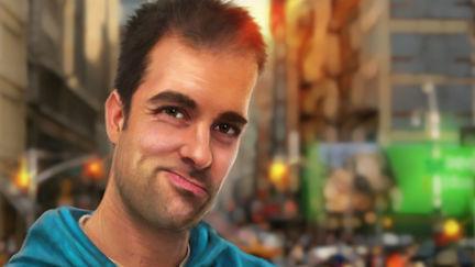 Self-portrait Filip G. Melis 2012