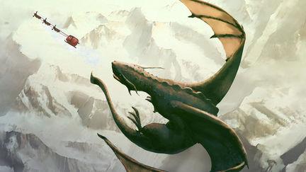 Dragon vs Santa