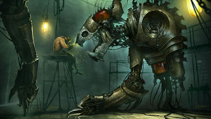 Steampunk Construct