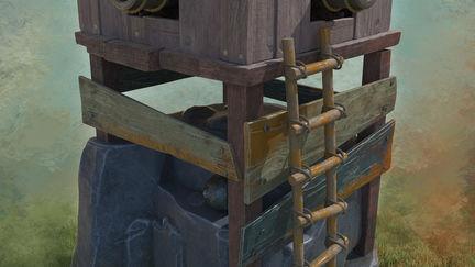 Defense Tower CGI
