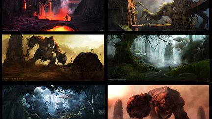 2009  Visual Development concepts - Unreleased - PS3, Xbox360, PC Title