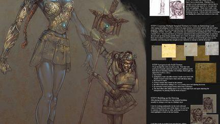 Concept pieces_plus digital tutorial