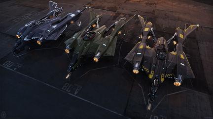 vanguard variants parked