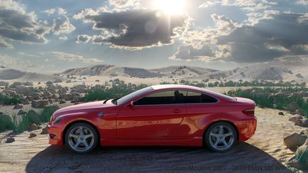 BMW 6 series - A concept in the desert