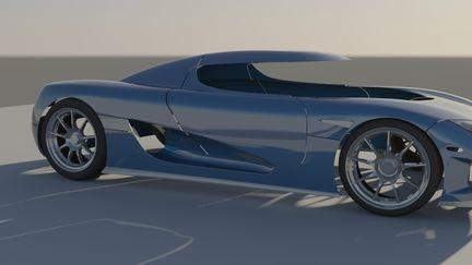 Koenigsegg CCX WIP 06