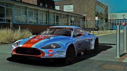 Aston Martin DBR9, Gulf colours