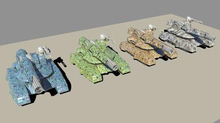 Future'ish tanks