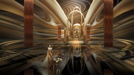 Queen's throne room