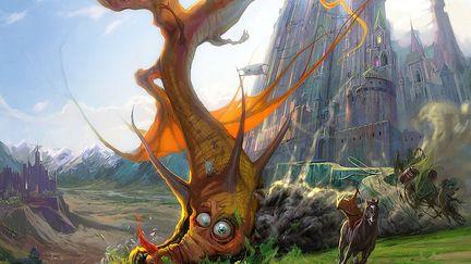 "Spectacular2d-""dragon Crash"""