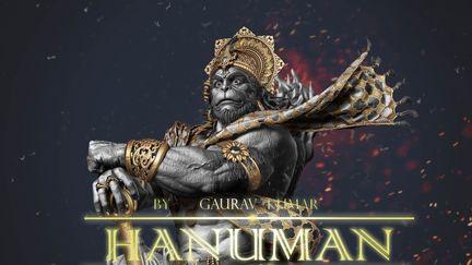 Hanuman Hindu God