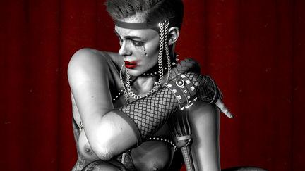"""Off the Cuffs"" Stefania Ferrario pose study"