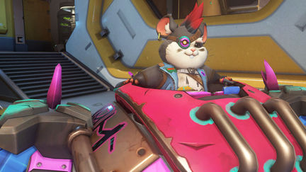 Overwatch Wrecking ball junker skin