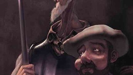 Quixote & Sancho