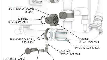 Butterfly Valve Installation - Illustrated