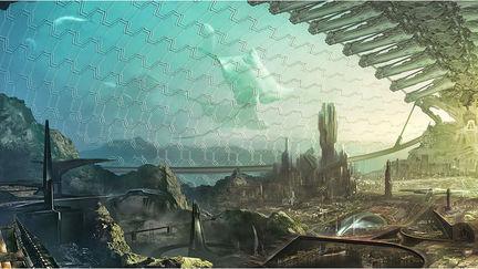 Undersea city & some Env sketch..