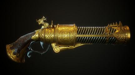 Dwarf Handgun