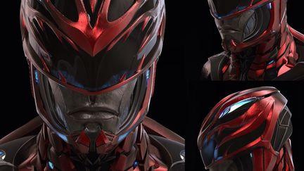 Red Ranger Helmet - Power Rangers
