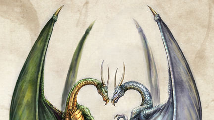 Entwined Dragons