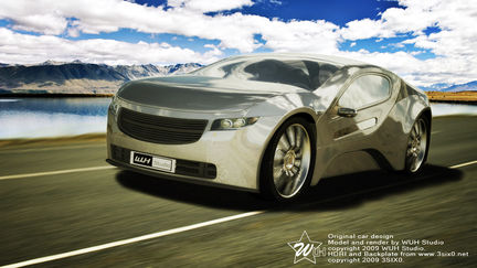 original car design_The DIVIDE with electricity