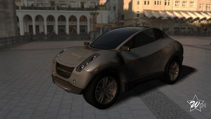 original car design_HORIZON Hydrogen SUV