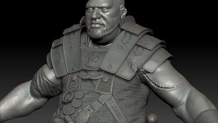 Fat Roman guy