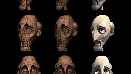 WIP - Character design for Strange Behavior Challenge