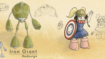 Iron Giant Redesign